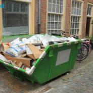 Een kluscontainer kan je huren bij Kluscontainerhuren.nl